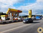 Бетонное малое кольцо в месте пересечения с Пятницким шоссе в Московской области