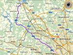 Карта Пятницкого шоссе Р111 - от Москвы до Солнечногорска