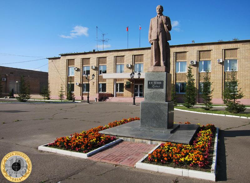 Памятник В.И.Ленину в Лотошино