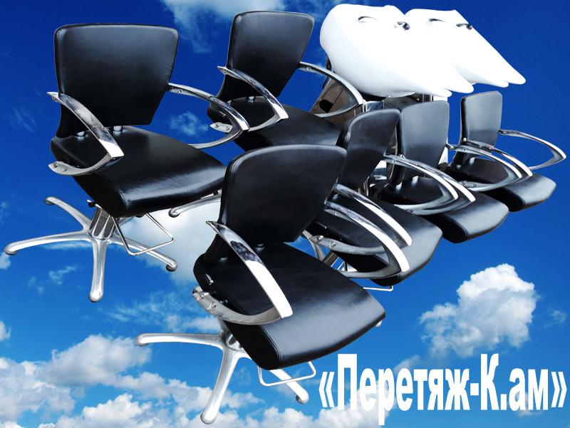 Перетяжка педикюрных и массажных кресел для парикмахерских и салонов красоты.