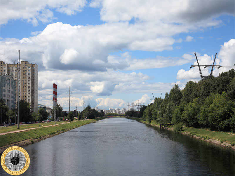 Канал имени Москвы в районе Тушино