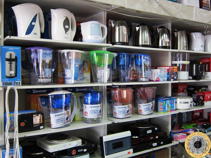 В магазине Хозтовары можно купить фильтры для воды и электрические чайники