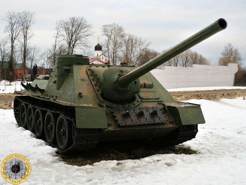 Танк Т-34-85 в музее