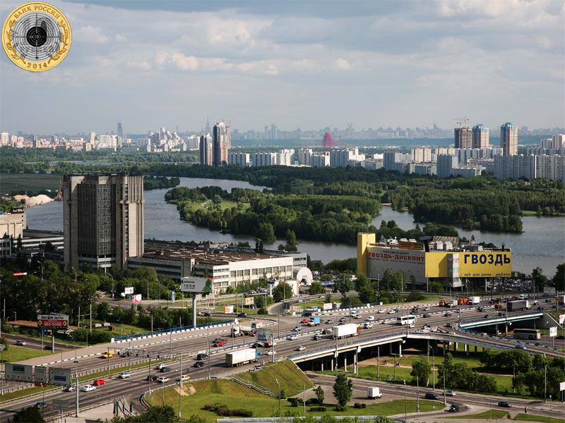 Пересечение МКАД и Волоколамского шоссе - начало Пятницкого шоссе