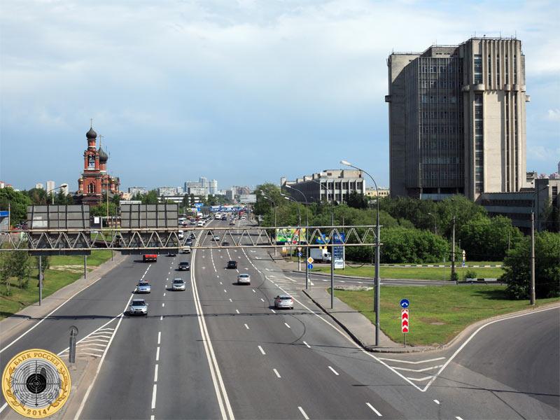 Волоколамскоt шоссе и Южное Тушино