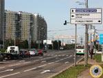 Десять светофоров в районе Митино