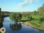 Река Истра у села Павловская Слобода между Волоколамсим и Новорижским шоссе