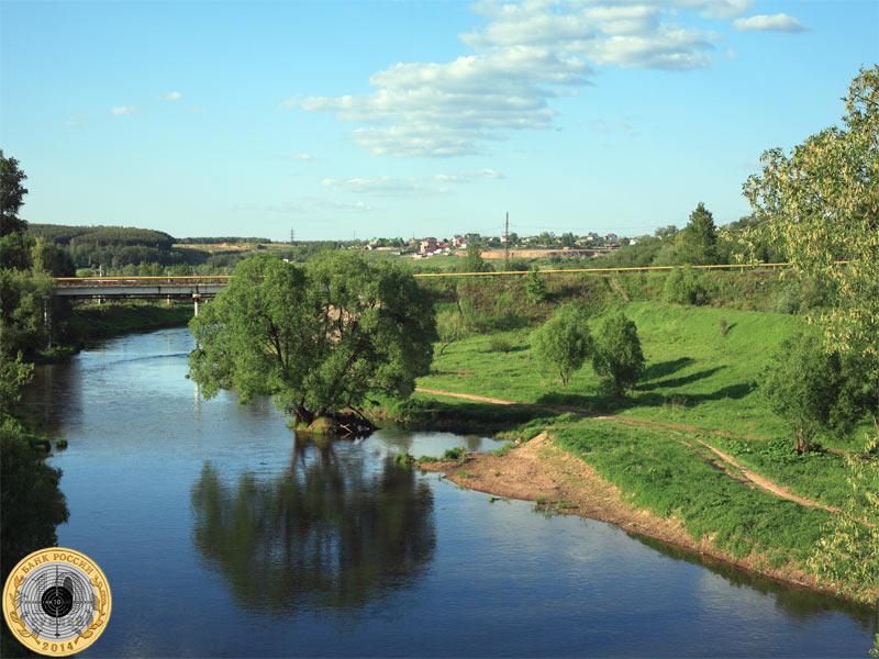 Река Истра у Павловской Слободы