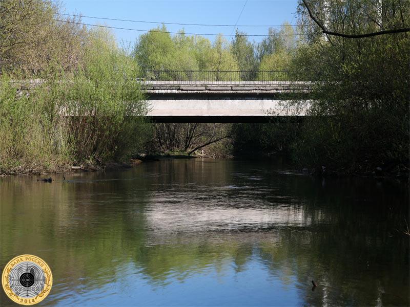 Походный проезд и мост над рекой Сходней в Москве