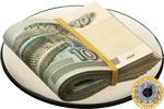 Десятирублёвые монеты и банкноты