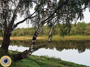 Река Волга выше города Твери